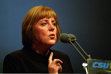 Angela Merkel (around 1990) | © BSB/ STERN Photo Archive/ Jürgen Gebhardt