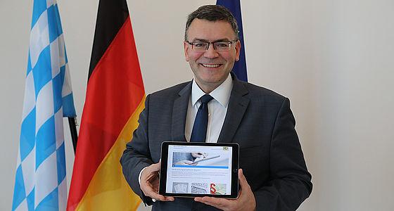 Staatskanzleiminister Dr. Florian Herrmann | © Bayerische Staatsregierung