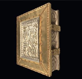 Sacramentary of Henry II in 3D | © BSB/ Clm 4456