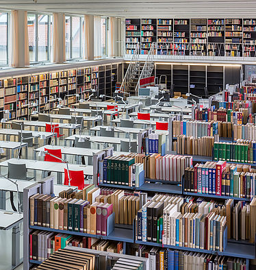 East European, Oriental and Asian Reading Room | © BSB/H.-R. Schulz
