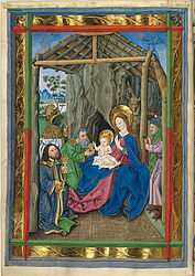 Adoration of the kings – Salzburg missal with illuminations by Berthold Furtmeyr | © BSB/ Clm 15708