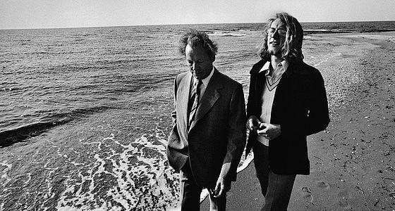 Willy Brandt mit Sohn Lars im April 1974 in Algerien. Brandts letzte Auslandsreise als Bundeskanzler, wenige Tage vor seinem Rücktritt | © BSB/Bildarchiv/Karsten de Riese