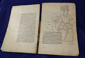 Astronomic manuscript in the Arabic language, created between 1630 and 1650 in Isfahan | © BSB S. Gottstein/ Cod.arab. 2834
