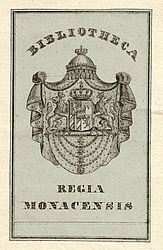 Exlibris Royal Library Munich | © BSB