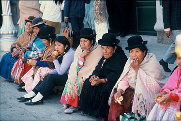 Women in Bolivia (1972) | © BSB/ STERN Photo Archive/ Perry Kretz