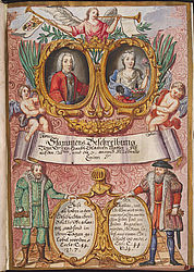 "The ""Bayrischen Adls Beschreibung"" (""Description of the Bavarian nobility"") compiled by Johann Michael Wilhelm von Prey zu Straßkirchen (1690 – 1747) is the most extensive collection of genealogical data of Old Bavarian noble families 
