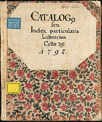 Monastery catalogue of the Franciscan monastery of Amberg: Catalogue of holdings of the cell, 1775 – 1797 und 1802 | © BSB/ Cbm Cat. 352(30