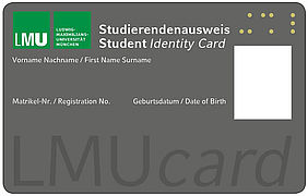 LMUcard | © Central University Administration of the LMU Munich