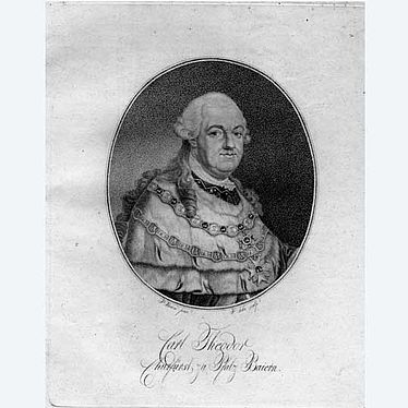 Elector Karl Theodor (1724 – 1799), copper engraving by F. John, around 1790 | © BSB/ Image Archive