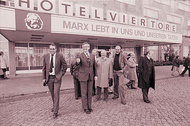 Union politicians in the GDR (1983) | © BSB/ STERN Photo Archive/ Herbert Peterhofen
