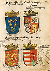 Nikolaus Bertschi: Book of coats of arms, particularly of German families | © BSB/ Cod.icon. 308