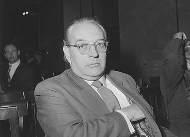 Wolfgang Schadewaldt (philologist 1900 – 1974) at the annual meeting of the Bavarian Academy of Fine Arts in the assembly hall of the Ludwig-Maximilians University on 13 July 1960 | © BSB/ Image archive