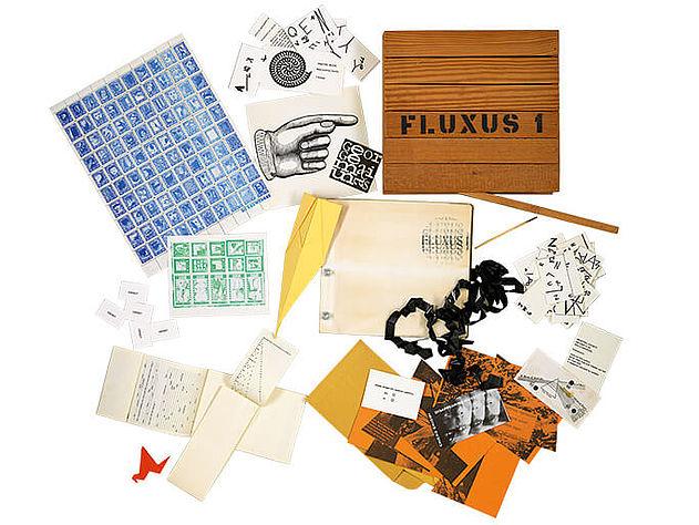 George Maciunas: Fluxus 1, 1964 | BSB/ L.sel.III 38 © George Maciunas Foundation/ VG Bild-Kunst, Bonn 2017