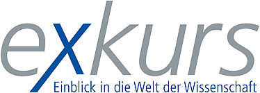 "Logo of the series ""exkurs"" 