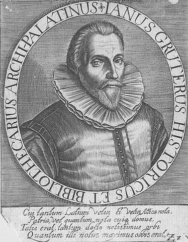 Jan Gruter (philologist, archaeologist, poet 1560 – 1627) | © BSB/ Image archive