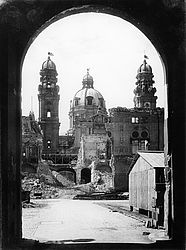 Munich – destroyed Theatine church, 1946 | © BSB/ Image archive