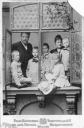 The Hanfstaengl family, around 1890 | © BSB/ Image archive