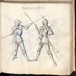 Paulus Kal: Fencing book, dedicated to the Count Palatine Louis | © BSB/ Cgm 1507