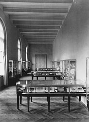 Bayerische Staatsbibliothek – exhibition hall in the hallway to the Department of Music | © BSB/ Image archive