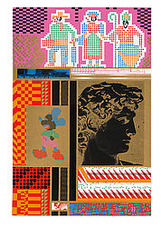 Eduardo Paolozzi: Moonstrips Empire News, 1967 | BSB/2 L.sel.III 177 © Trustees of the Paolozzi Foundation, Licensed by/VG Bild-Kunst, Bonn 2017