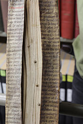 """Recycled"" parchment manuscript 