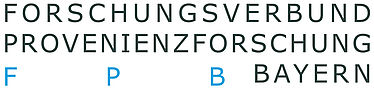 Research Association for Provenance Research in Bavaria (FPB), logo