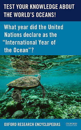 TEST YOUR KNOWLEDGE ABOUT THE WORLD'S OCEANS! | © Oxford University Press