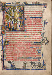 Psalter of Queen Isabella of England | © BSB/ Cod.gall. 16