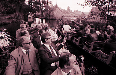Delegation of the CDU in the Spreewald (1983) | © BSB/ STERN Photo Archive/ Herbert Peterhofen