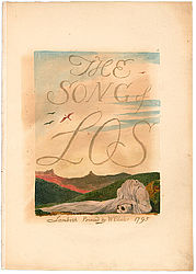 William Blake: The Song of Los, 1795 | © BSB/ Chalc. 160