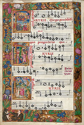 Choir book with masses from Josquin's time | © BSB/ Mus.ms. C