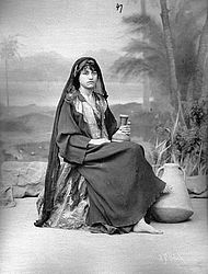 Young fellah woman, photograph, 1880/ 90 | © BSB/ Image archive