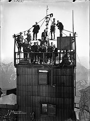 25th anniversary of the observatory on the Zugspitze, 1925 | © BSB/ Image archive