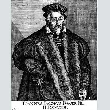 Johann Jakob Fugger (1516 – 1575), copper engraving by D. Custos, 1618 | © BSB/ Image Archive