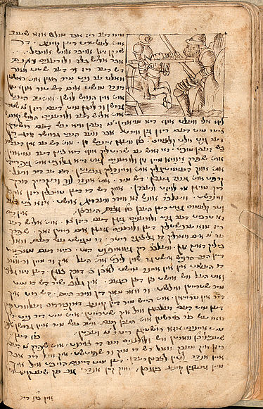 Collection of Yiddish narrations | © BSB/ Cod.hebr. 100
