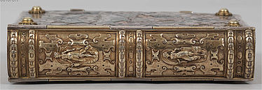 Nuremberg silver binding by Hans Lencker, so-called prayer book of Maximilian I of Bavaria | © BSB/ Clm 23640
