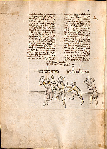 Ibn-Abi-Suhula, Yitshak ben Shelomoh: Hebrew fable collection (Meshal ha-kadmoni) | © BSB/ Cod.hebr. 107