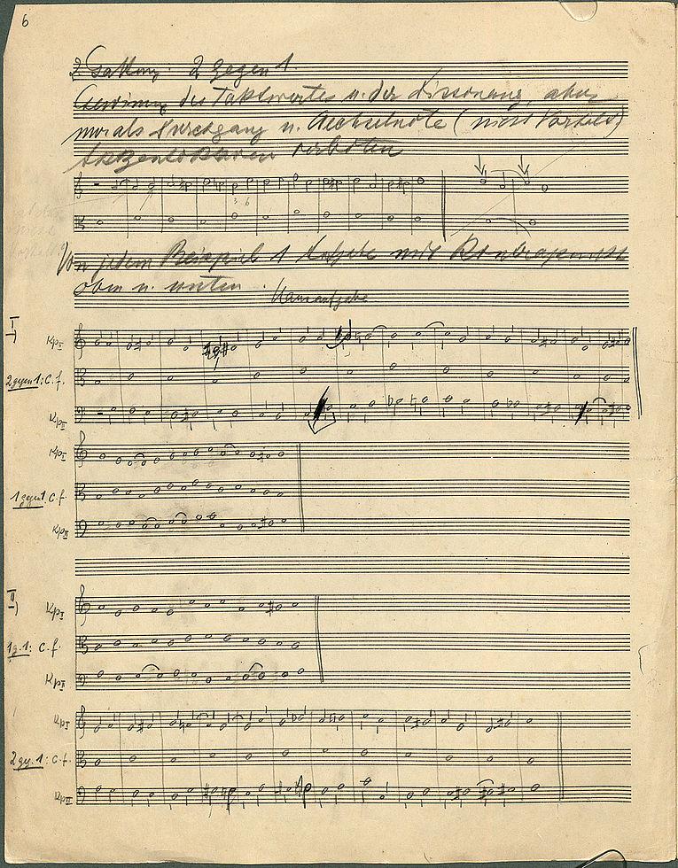 Bavarica in music materials