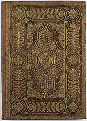 Baroque binding for the monastery of Tegernsee | © BSB/ Clm 1017