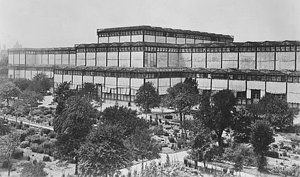 Glass Palace in Munich, around 1905 | © BSB/ Image archive