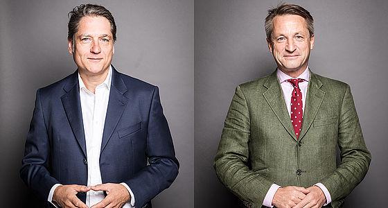Jakob Augstein und Nikolaus Blome | © Benjamin Zibner