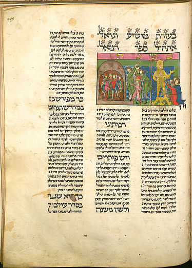 Yitsḥaḳ Ben Shelomoh Ibn-Abi-Suhula: Hebrew fable collection. Germany, around 1450 | © BSB/ Cod.hebr. 107