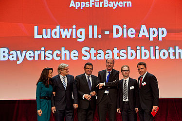 "Public Brain Award 2012 – Special prize for the app ""Ludwig II"""