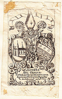 Monastery exlibris, Chapter of Augustinian Canons St. Sixtus, (Herren-)Chiemsee