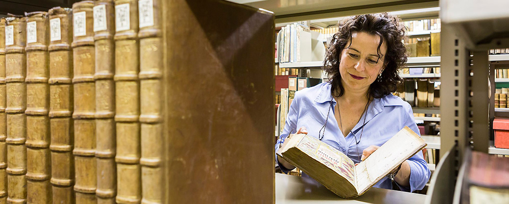 Behind the scenes – Guided tour of the repository of the Bayerische Staatsbibliothek | © BSB/ H.-R. Schulz