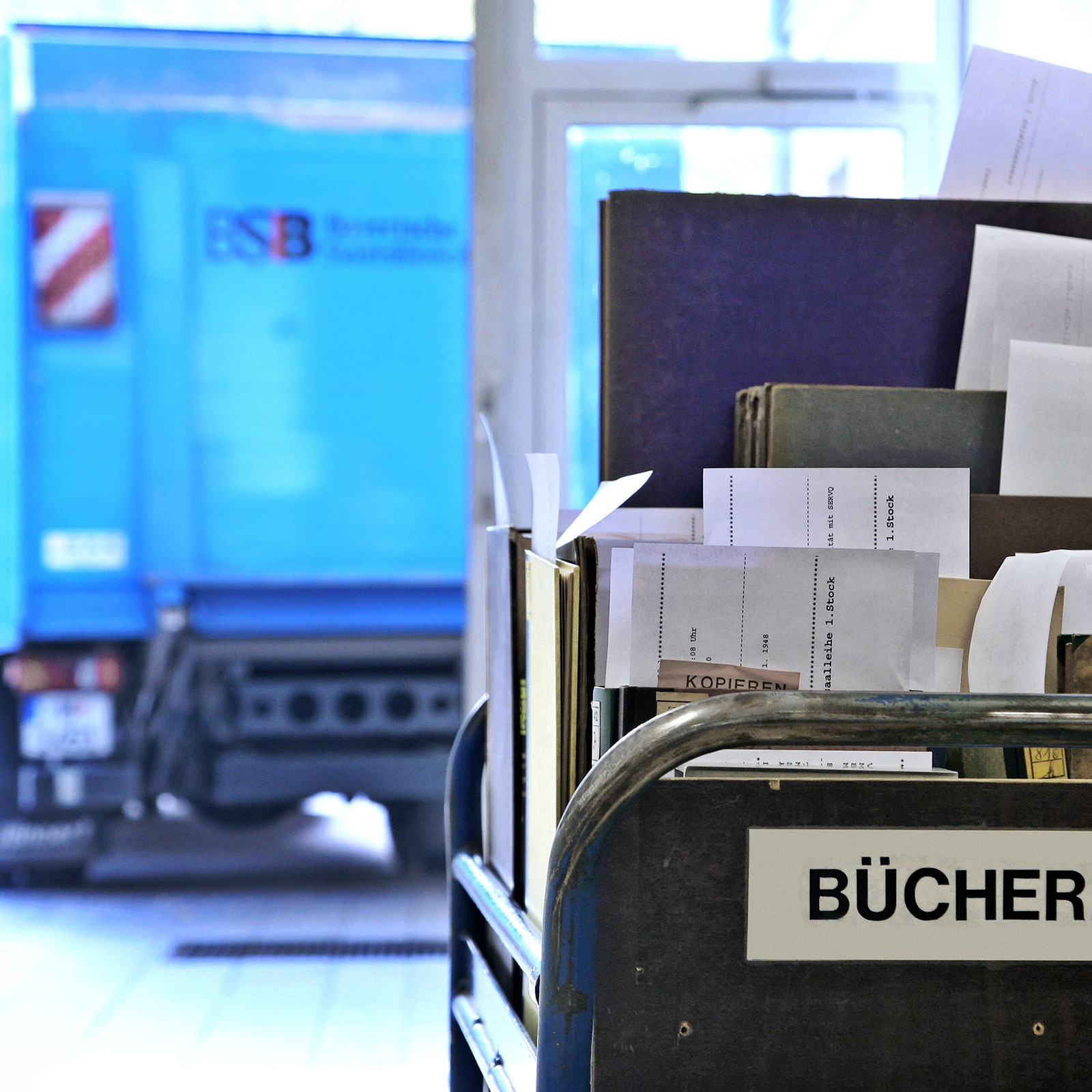 Book delivery from Garching | © BSB