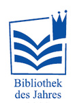 Bibliothek des Jahres (library of the year), logo