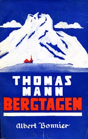 "Returned Nazi loot: Thomas Mann, Bergtagen, 1929 (Swedish translation of ""Der Zauberberg"") 