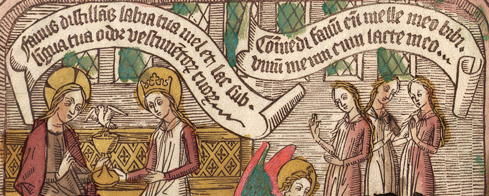 Canticum canticorum. Germany, around 1469/ 70 | © BSB/ Xylogr. 31