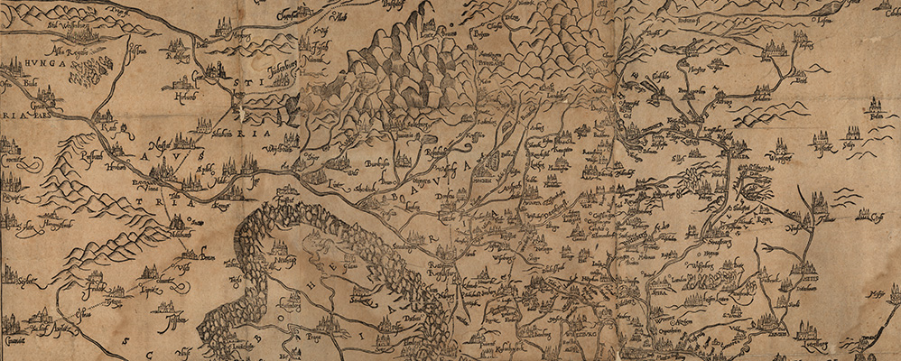 Map Of Old Germany.Old Maps